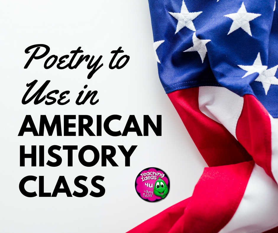 Poetry to Use in Your American History Class