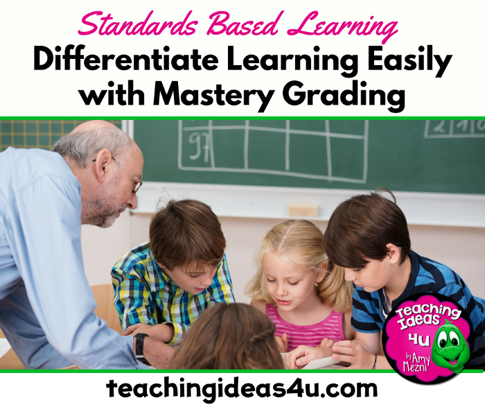 Differentiated Instruction with Mastery Grading