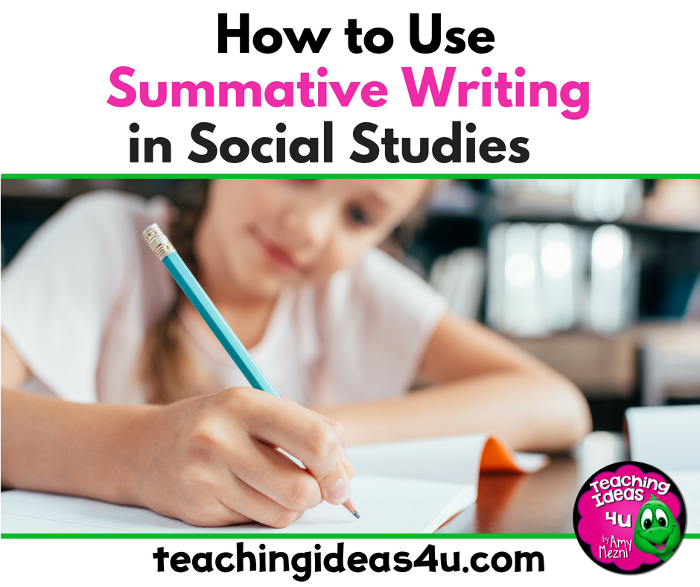 How to Use Summative Writing