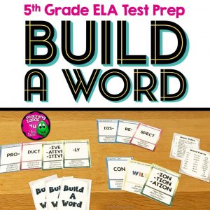 Teaching Ideas 4U - Amy Mezni - Greek & Latin Roots Card Game Build A Word Prefixes, Root Words, and Suffixes