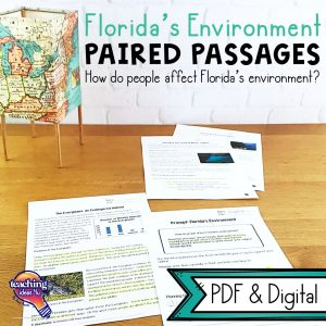 TeachingIdeas4u Florida's Environment Paired Passages 1