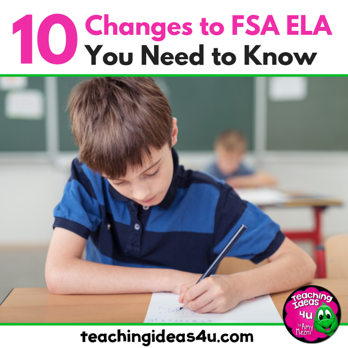 10 Changes to the FSA ELA Test You Need to Know