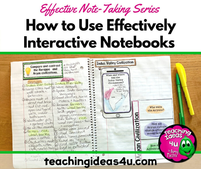 Teaching Ideas 4u - Amy Mezni - How-to-Use-Interactive-Notebooks-Effectively