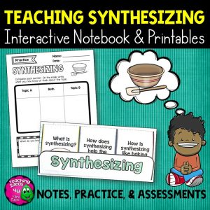 Teaching Ideas 4U - Amy Mezni - Synthesizing Reading Strategy Unit: Notes, Practice, & Assessment + INB
