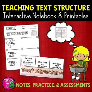 Teaching-Ideas-4U-Amy-Mezni-Text-Structure-Reading-Strategy-Un