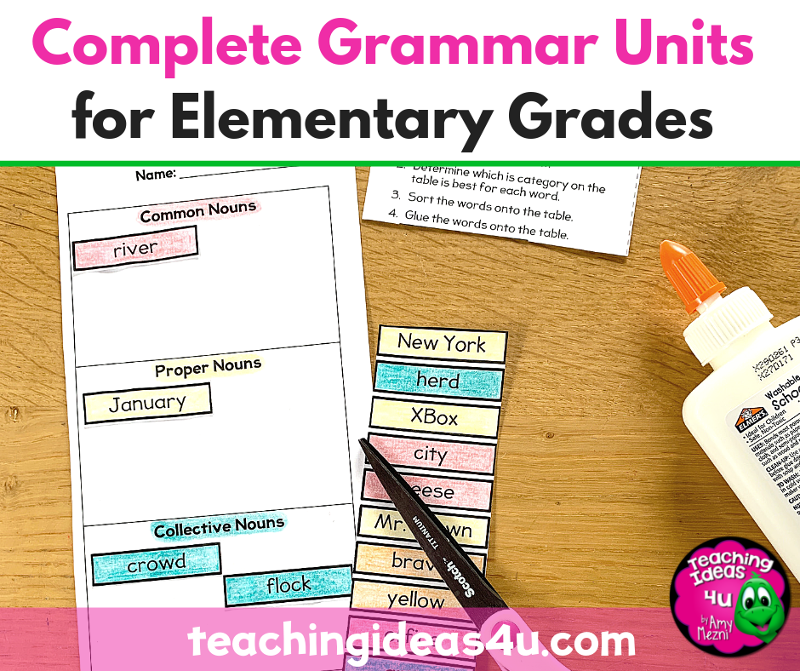 Complete Grammar Units for Elementary Grades