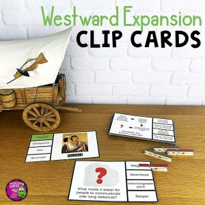 TeachingIdeas4uWestwardExpansionPicknFlipClipCardsReviewActivity