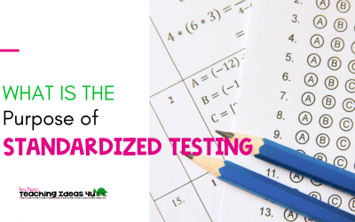 What is the Purpose of Standardized Testing?