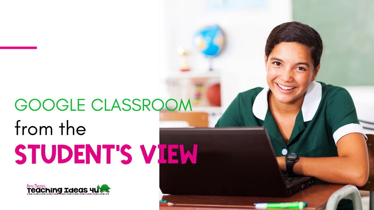 Google Classroom From A Student's View