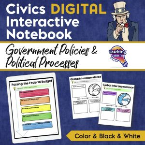 Teaching Ideas 4u Civics DIGITAL INB PG1