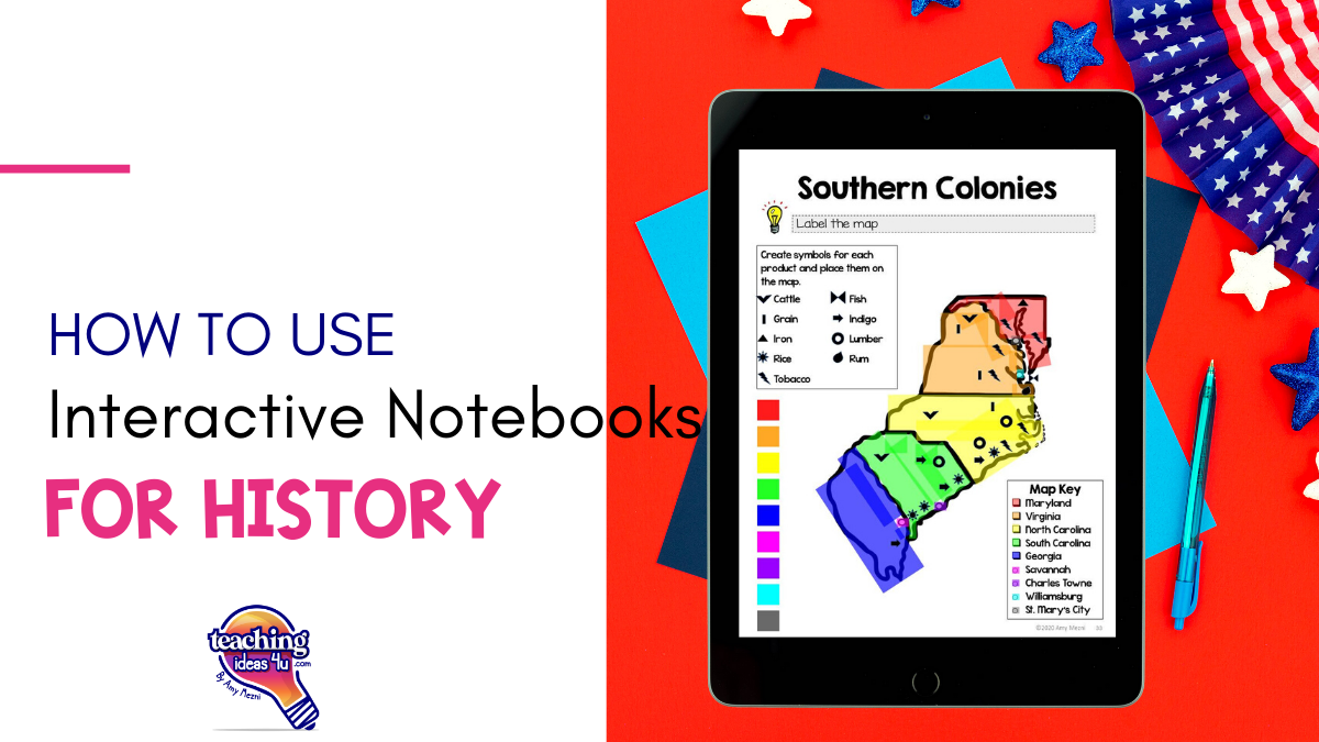 How to Use Interactive Notebooks for American History