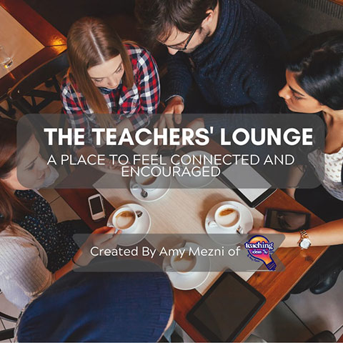Join Free Teacher Resources in The Teachers Lounge on Facebook - Teaching Ideas4U by Amy Mezni
