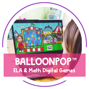 Teaching Resources - Balloon Pop by Amy Mezni on Teaching Ideas 4U