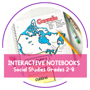 Teaching Resources - Interactive Notebooks by Amy Mezni on Teaching Ideas 4U