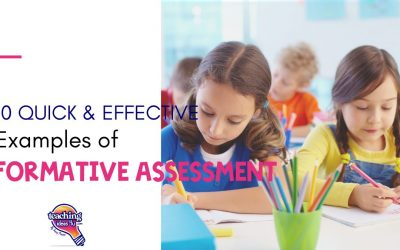 Quick And Effective Formative Assessments