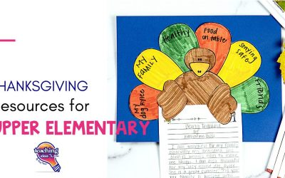 Thanksgiving Resources For Upper Elementary Students