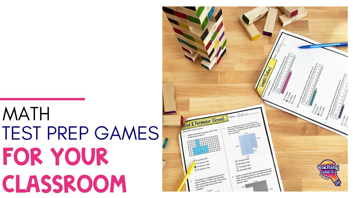 Math Test Prep Games For Your Classroom